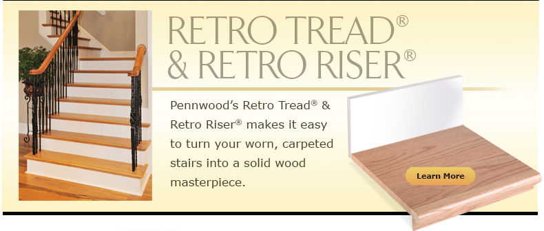 Pennwood Products Gt Products Gt Retro Tread Retro Riser